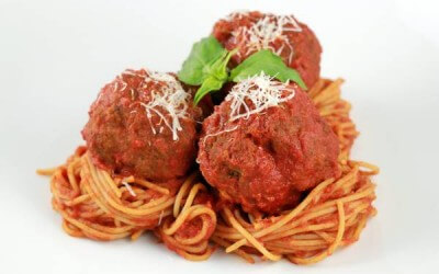 Meatballs. Because we need fuel too.