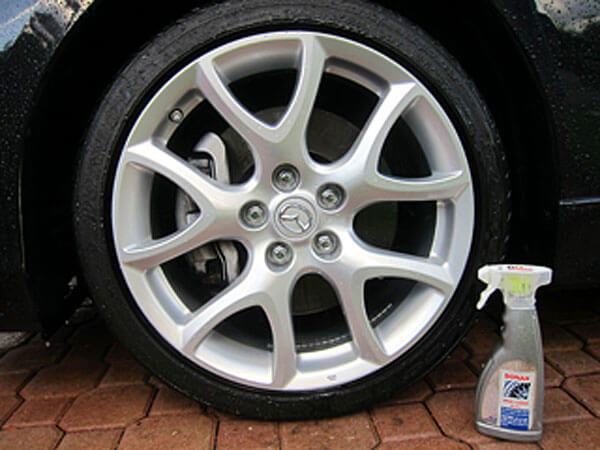 how to clean wheel wells