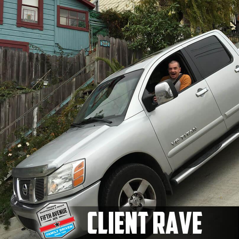 client rave james