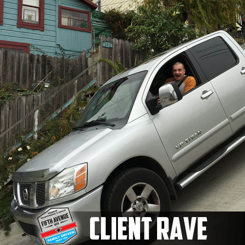 client rave james